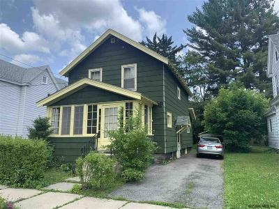 Gloversville Single Family Home For Sale: 139 Fifth Av