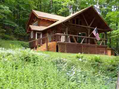 Saratoga County Single Family Home For Sale: 1105 North Shore Rd
