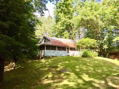 Lake Luzerne NY Single Family Home For Sale: $55,000