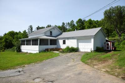 Johnsburg Single Family Home Active-Under Contract: 2621 State Route 28