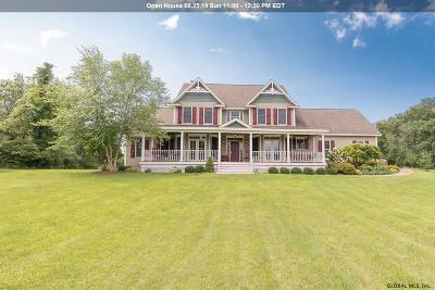Albany County, Columbia County, Greene County, Fulton County, Montgomery County, Rensselaer County, Saratoga County, Schenectady County, Schoharie County, Warren County, Washington County Single Family Home New: 191 Farm To Market Rd