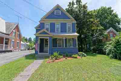 Fort Edward Single Family Home For Sale: 86 East St