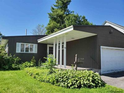 Gloversville Single Family Home Active-Under Contract: 180 Prospect Av