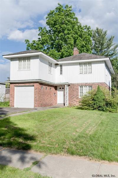 Albany Single Family Home For Sale: 75 Euclid Av