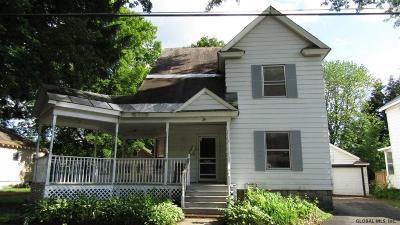 Glens Falls Single Family Home For Sale: 6 Fourth St