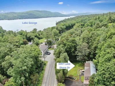 Lake George Multi Family Home For Sale: 3397 Lake Shore Dr