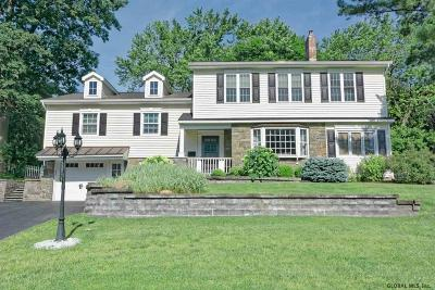 Schenectady County Single Family Home For Sale: 1269 Hawthorn Rd