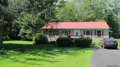 Wilton Single Family Home For Sale: 116 Dimmick Rd