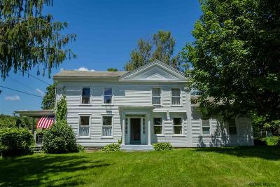Salem Single Family Home For Sale: 829 Washington County Route 64 #Gentleme