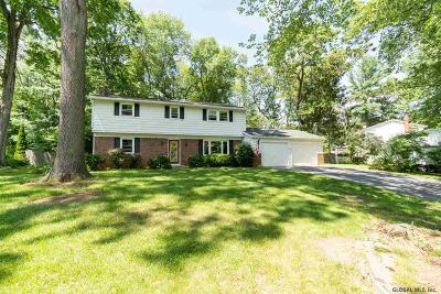 Clifton Park Single Family Home For Sale: 4 Glenwood Dr