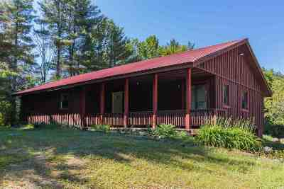 Northampton Tov, Mayfield, Mayfield Tov Single Family Home For Sale: 463 County Highway 113