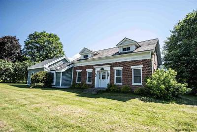 Queensbury, Fort Ann Single Family Home For Sale: 1772 Ridge Rd