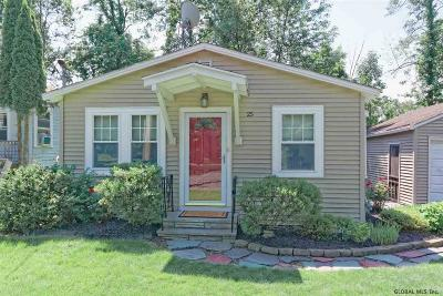 Colonie Single Family Home Price Change: 25 Green Island Av