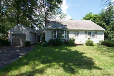 Niskayuna Single Family Home Active-Under Contract: 845 Lishakill Rd