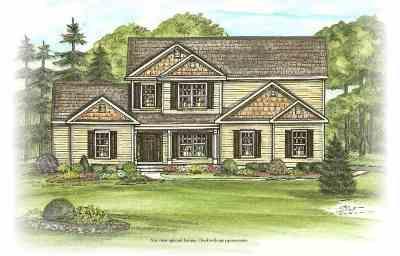 Saratoga County Single Family Home For Sale: 1 Buff Rd