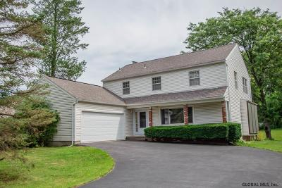 Niskayuna Single Family Home For Sale: 818 Huntingdon Dr