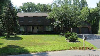Clifton Park Single Family Home For Sale: 13 Kings Ct