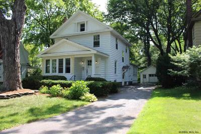 Niskayuna Single Family Home For Sale: 1410 Regent St