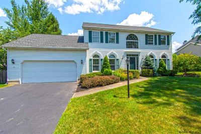 Guilderland Single Family Home For Sale: 119 Kennewyck Cir