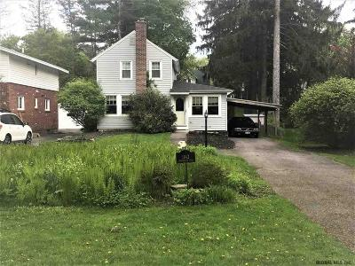Niskayuna Single Family Home For Sale: 1142 Millington Rd