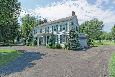 Colonie Single Family Home For Sale: 66 & 68 Dunsbach Ferry Rd