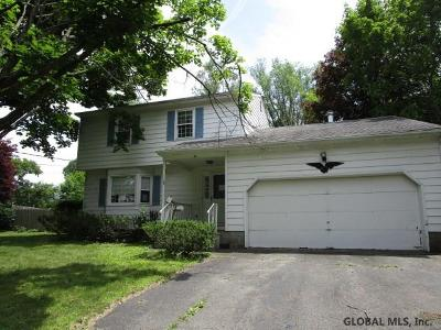 East Greenbush Single Family Home For Sale: 46 Old Troy Rd