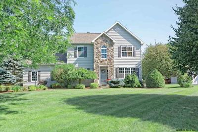 Clifton Park Single Family Home For Sale: 13 Swan Dr