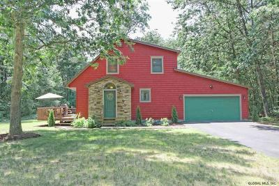 Saratoga County Single Family Home For Sale: 21 Southwoods Rd