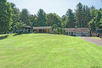 Rensselaer County Single Family Home For Sale: 1010 Tamarac Rd