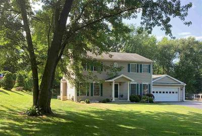 East Greenbush Single Family Home For Sale: 22 Greenwood Dr