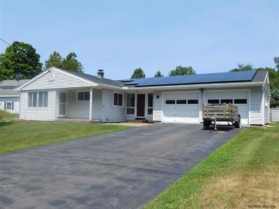 South Glens Falls Single Family Home For Sale: 4 Adams Rd