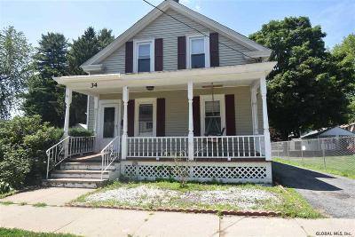 Glens Falls Single Family Home For Sale: 34 Platt St