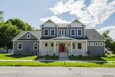 Saratoga County Single Family Home Price Change: 7 Madison St