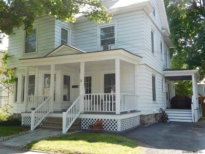 Glens Falls Single Family Home Active-Under Contract: 11 Jefferson St