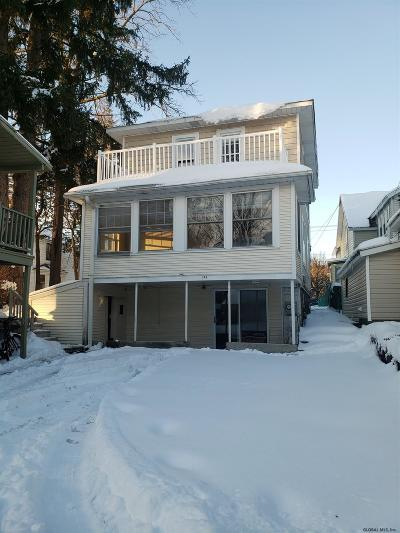 Saratoga Single Family Home Price Change: 244 Church St