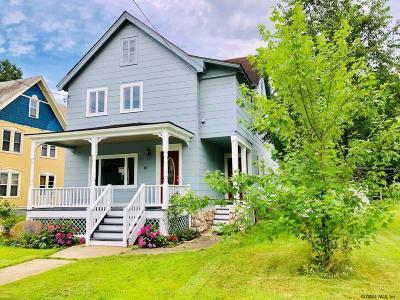 Ballston Spa, Round Lake Single Family Home For Sale: 10 Columbia Av