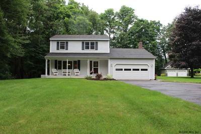 Guilderland Single Family Home For Sale: 5970 Curry Rd Ext