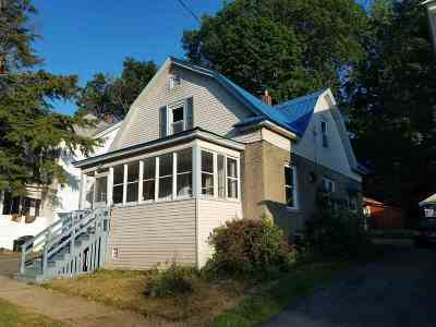 Gloversville, Johnstown Single Family Home For Sale: 6 Van Wyck St