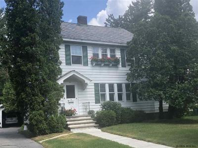 Glens Falls Single Family Home For Sale: 69 Sheridan St