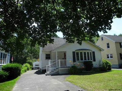 Niskayuna Single Family Home New: 1142 S Country Club Dr