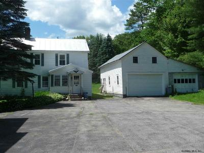 Saratoga County Single Family Home New: 1 Military Rd