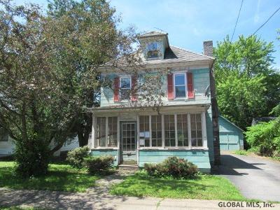 Gloversville, Johnstown Single Family Home New: 3 South Comrie Av