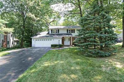 Niskayuna Single Family Home New: 1172 Rosehill Blvd