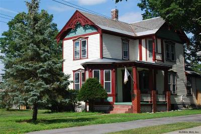 Glens Falls Single Family Home For Sale: 201 Bay St