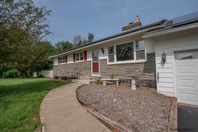 Schenectady County Single Family Home New: 105 Snake Hill Rd