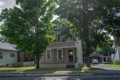 Cohoes Single Family Home Active-Under Contract: 569 Saratoga St
