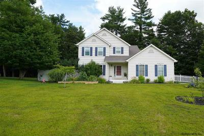 Saratoga County Single Family Home New: 54 Whitney Rd South