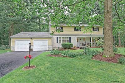 Clifton Park Single Family Home For Sale: 8 Cypress Pt