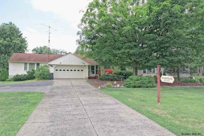 Moreau Single Family Home For Sale: 607 Gansevoort Rd