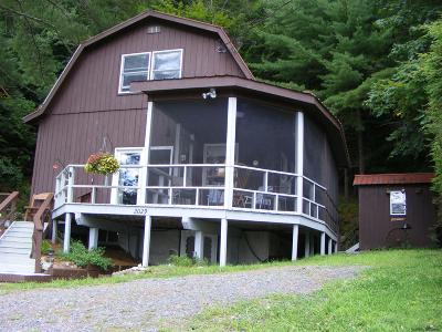 Albany County, Saratoga County, Schenectady County, Warren County, Washington County Single Family Home For Sale: 2029 North Shore Rd